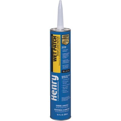 Henry Wet Patch 10.1 Oz. Extreme Roofing Cement & Patching Sealant