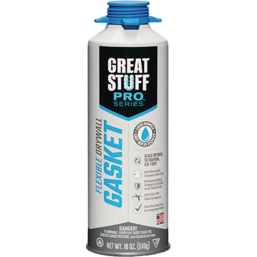 Great Stuff Pro 18 Oz. Flexible Gasket Foam