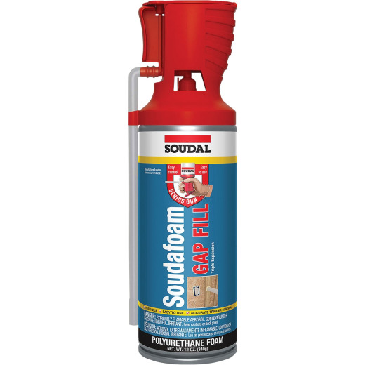 Soudafoam 12 Oz. Triple Expansion GAP Fill Foam Sealant