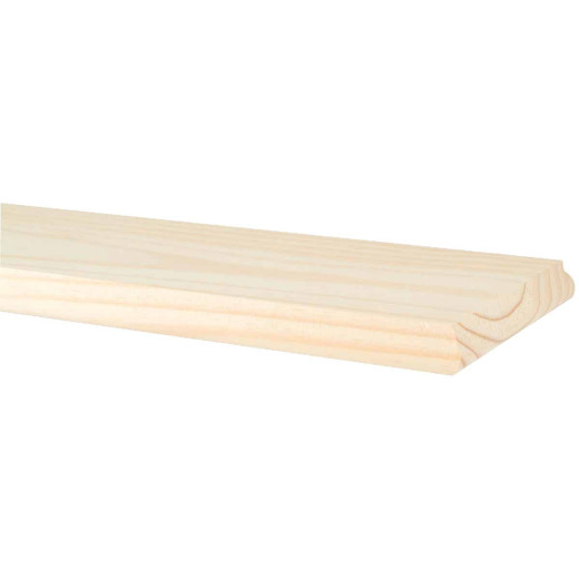Waddell 9 In. x 48 In. Unfinished Premium Pine Shelving