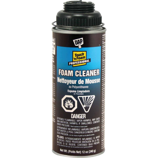 Dap Touch n Foam Cleaner, 12 Oz.