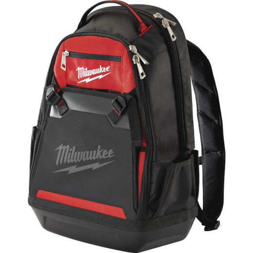 Milwaukee 35-Pocket 10 In. Jobsite Backpack Tool Bag