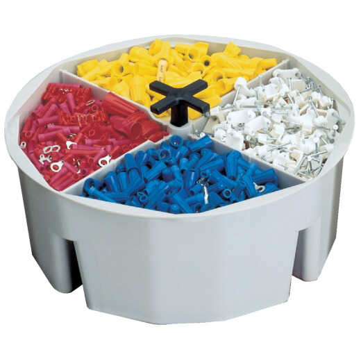 CLC 2.5 In. Full Round Bucket Tray