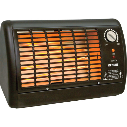 Optimus 1320-Watt 120-Volt Radiant Electric Space Heater