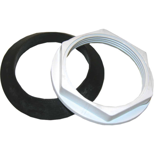 Lasco 2 In. Flush Valve Nut with Washer