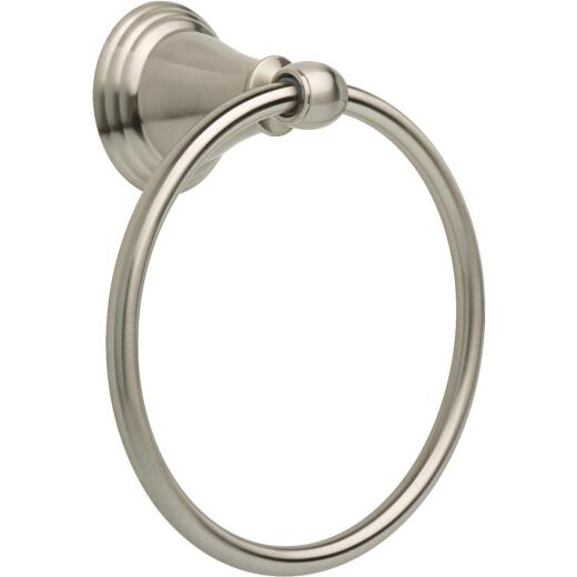 Delta Brushed Nickel Towel Ring
