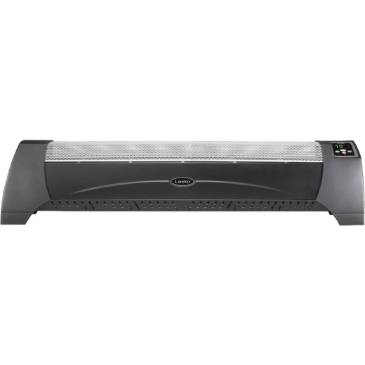 Lasko 39-3/4 In. 1500-Watt 120-Volt Portable Electric Baseboard Heater, White