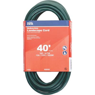 Do it Best 40 Ft. 16/3 Landscape Extension Cord