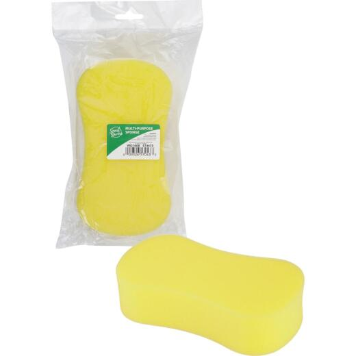 Smart Savers 8 In. x 4.3 In. Yellow Sponge