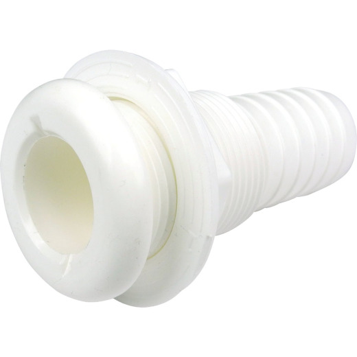 Seachoice 2-1/4 In. ABYC Molded Plastic Through-Hull Connector