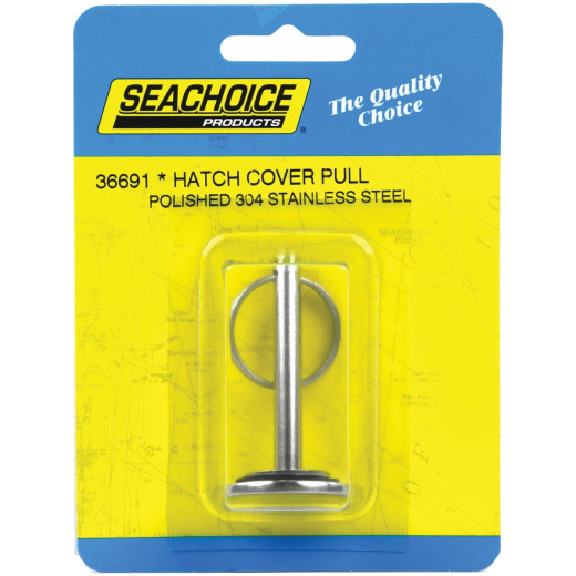 Seachoice 1-1/4 In. x 1/8 In. Stainless Steel Hatch Cover Pull
