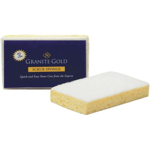 Granite Gold 4.875 In. x 3 In. Yellow Scrub Sponge