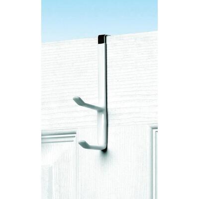 Spectrum White Over-The-Door Double Hook