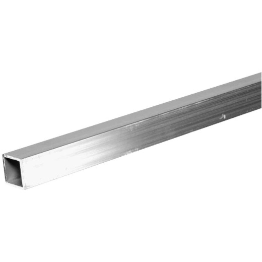 HILLMAN Steelworks 3/4 In. x 6 Ft. Aluminum Square Tube Stock