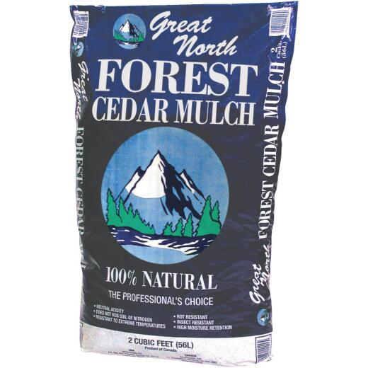 Great North 2 Cu. Ft. Cedar Mulch