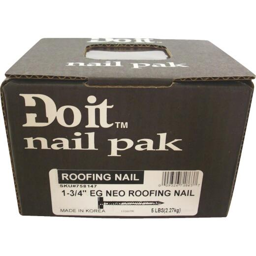 Do it 1-3/4 In. Electrogalvanized Roofing Nails (107 Ct., 1 Lb.).