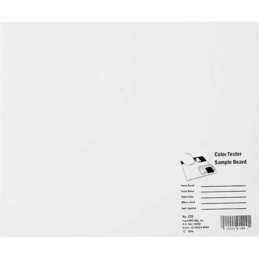 FoamPro 12 In. x 10 In. Color Tester Sample Board