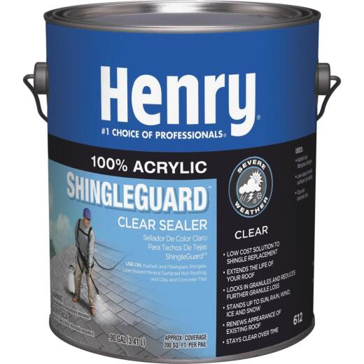 Henry 612 ShingleGuard 1 Gal. Clear 100% Acrylic Roof Coating