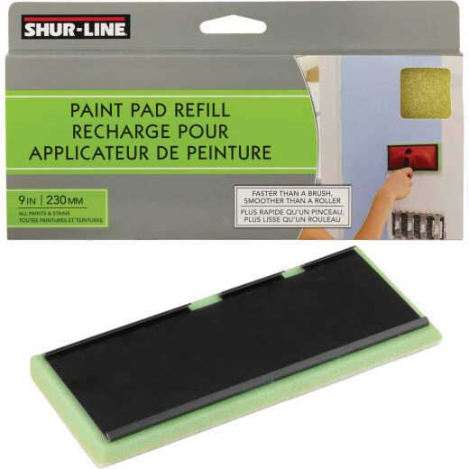 Shur-Line 9 In. Walls & Floors Paint Pad Refill