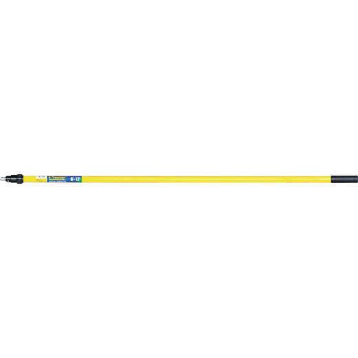 Premier 6 Ft. To 12 Ft. Telescoping Fiberglass & Stainless Steel External Twist Extension Pole