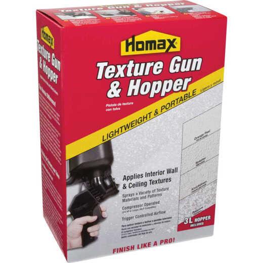 Homax Pro Texture Pneumatic Spray Gun and Hopper