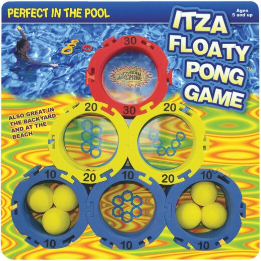Water Sports Itza Floaty Pong 2 or More Players Pool Game
