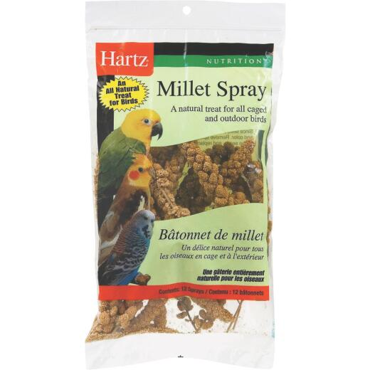 Hartz Millet Spray Bird Treat (12-Pack)